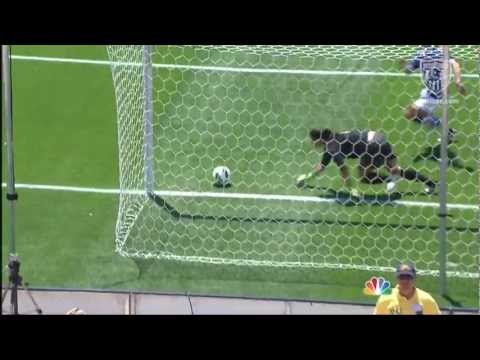 WNT vs. Canada: Hope Solo Save - June 30, 2012 | PopScreen