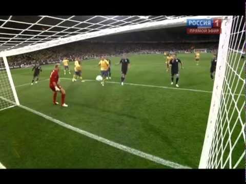 Чемпионат Европы 2012.Швеция-Англия 2-1 Mellberg.flv | PopScreen