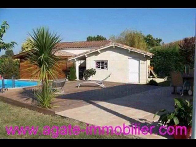 Achat maison avec piscine 33720 podensac gironde popscreen for Maison atypique gironde