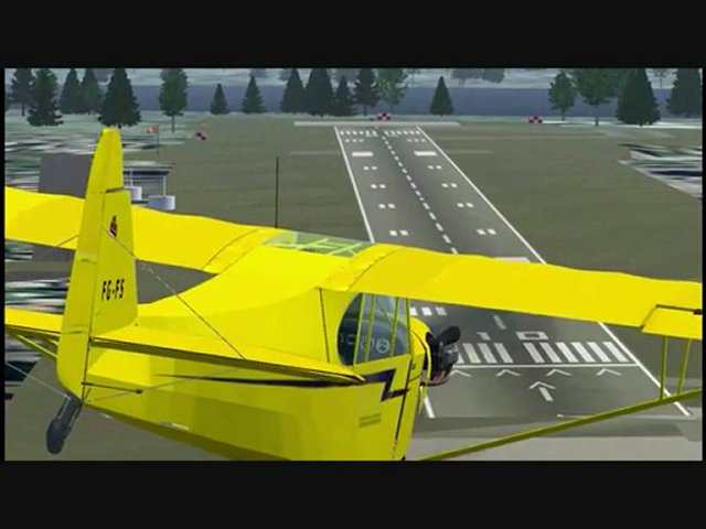Screens Zimmer 7 angezeig: Aircraft simulator games