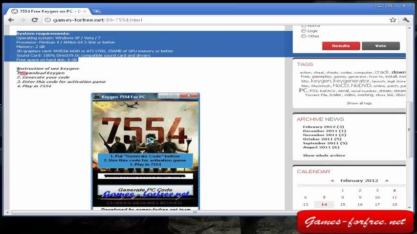 Читы 7554 чит коды, nocd,nodvd, трейнер, crack, сохранения, совет.