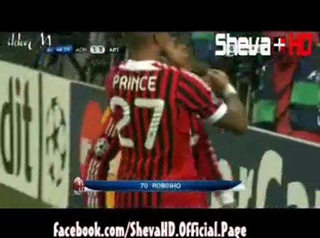A.C Milan vs Arsenal 4-0 Les buts | PopScreen