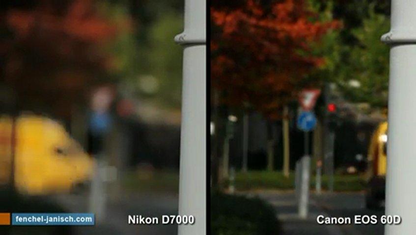 Nikon D7000 vs  Canon EOS 60D | PopScreen