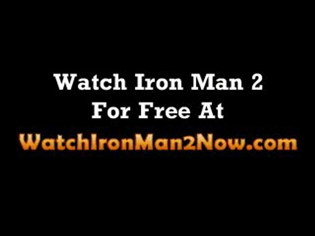 watch iron man 2 free