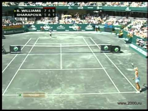 Maria Sharapova vs Serena Williams 2008 | PopScreen