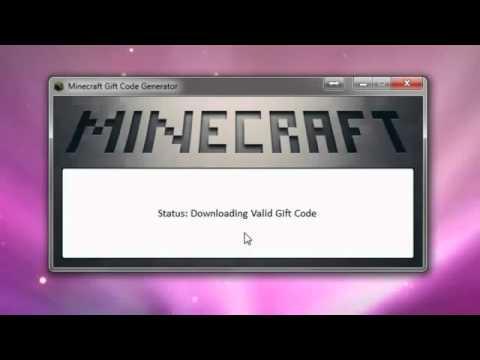 Minecraft Gift Code Generator 2012 | PopScreen