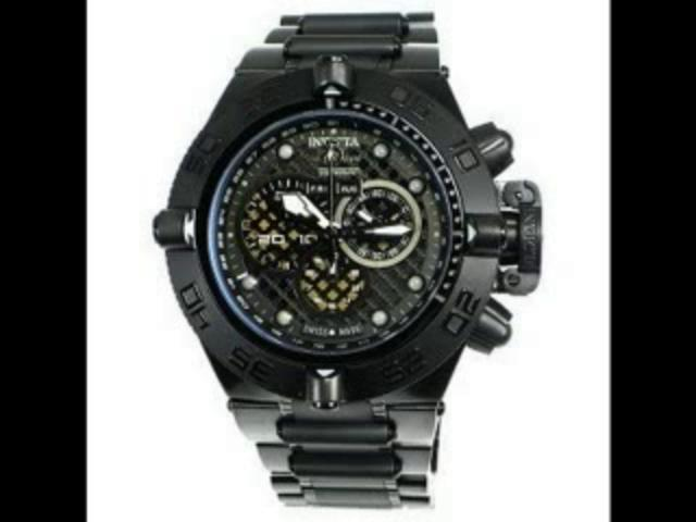 INVICTA 6545 Men's SUBAQUA NOMA IV Ion Plated Black Chronograph Watch. Model: INVICTA 6545 | PopScreen