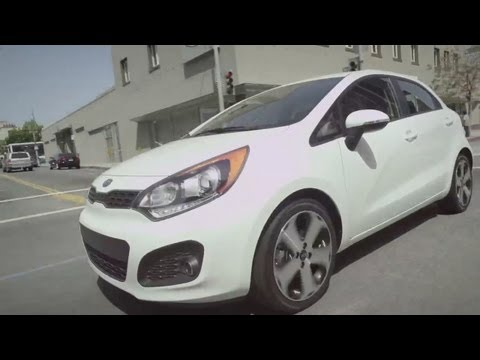 Kia Rio Zip and Dash to LA with Christina Milian