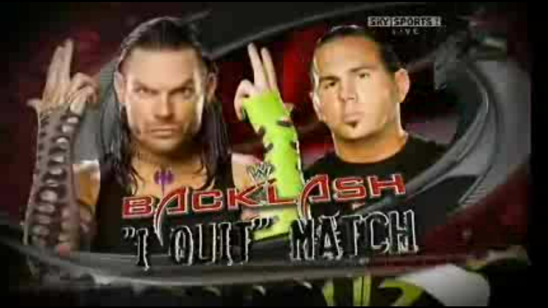 Terrific Wwe Jeff Hardy And Matt Hardy Vs Dx Ak74 Hairstyles For Men Maxibearus