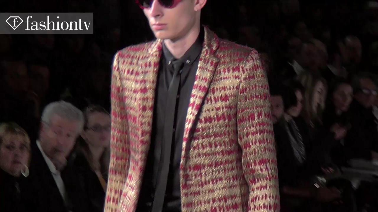 Rynshu Men Fall 2012 Fashion Show at Paris Men's FW | FTV