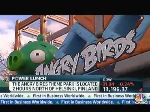 The Angry Birds Theme Park - CNBC Power Lunch | PopScreen