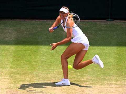 Maria Sharapova vs Rodionova - Wimbledon 2012 | PopScreen