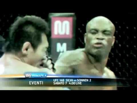 UFC 148: Silva vs Sonnen 2 (Promo Sky Primafila in italiano) | PopScreen