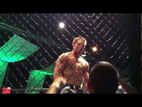 Christian Morgans MMA fight round 2 | PopScreen