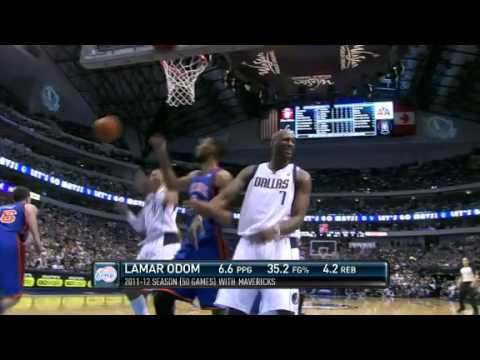Lamar Odom Traded to Los Angeles Clippers | NBA Draft 2012 | PopScreen