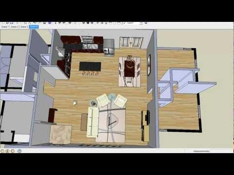 How To Arrange Furniture In Open Floor Plans Popscreen