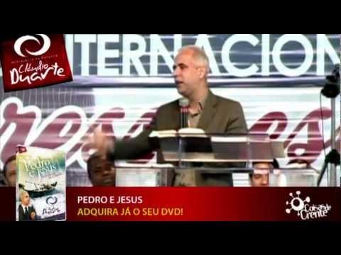 Mensagem do Pr. Cláudio Duarte - Pedro e Jesus | PopScreen