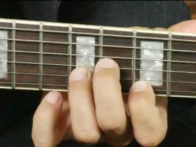 how to play ab minor chord on guitar