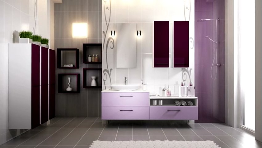 loft bain lilas salle de bains popscreen. Black Bedroom Furniture Sets. Home Design Ideas
