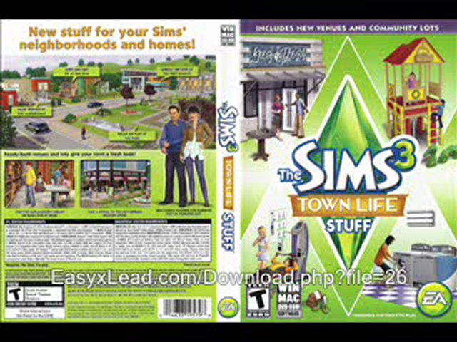 Free sims 3 download stuff | The Sims 3 Town Life Stuff Free