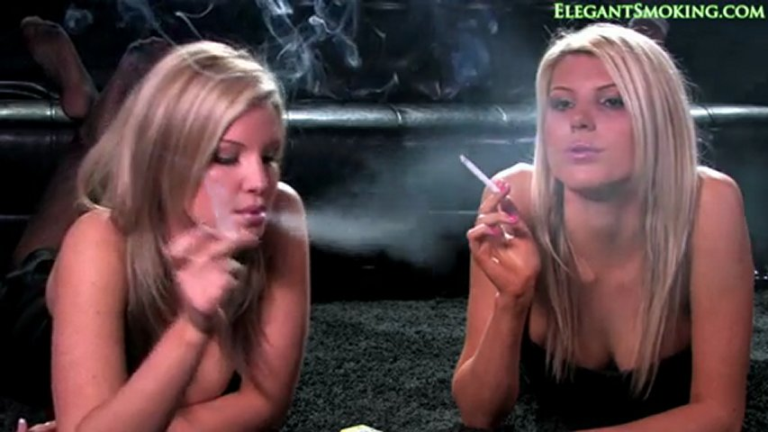 Sisters smoking 120's cigarettes | PopScreen