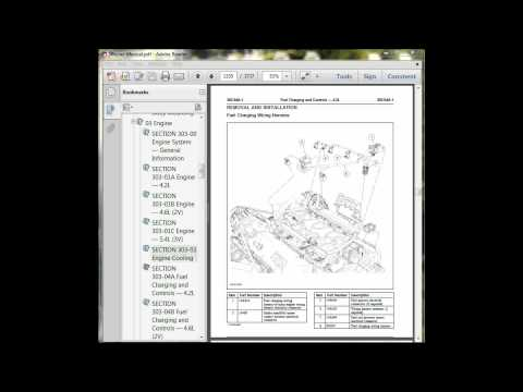 FORD CROWN VICTORIA 2008 Repair,Parts and Wiring Manual pdf instant