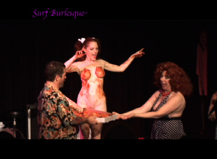 BK Surf Burlesque ... Jo Boobs Birthday