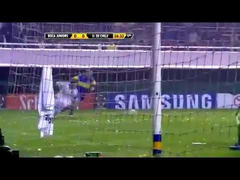 Melhores Momentos - Boca Juniors 2 x 0 Universidad de Chile - (1º Jogo) Semifinal Libertadores 2012 | PopScreen