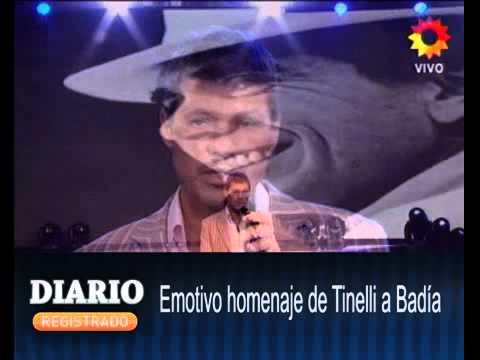 ayer Emotivo homenaje de Tinelli a Badia 0307 | PopScreen