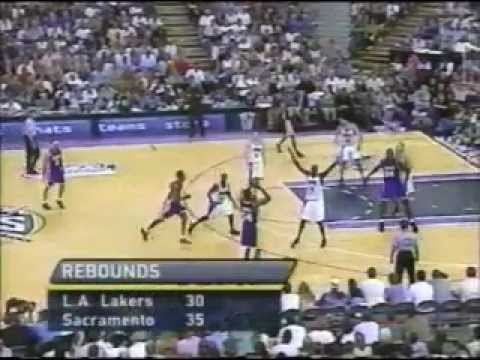 2001 NBA Playoffs: Lakers at Kings, Gm 3 part 8/13 | PopScreen