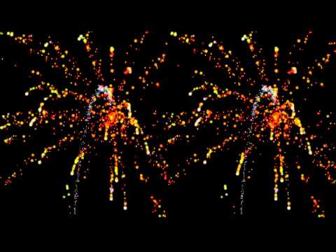 Firework Stereoscopic 3D! | PopScreen
