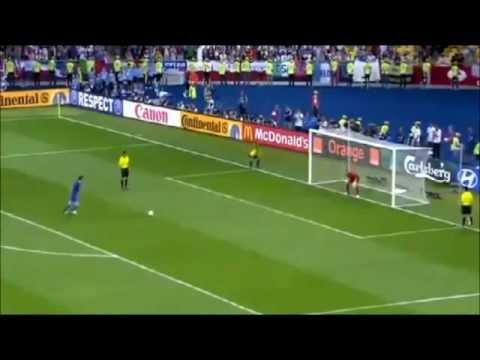 Italy vs England [Andrea Pirlo Penalty Kick] 24/6/12 | PopScreen