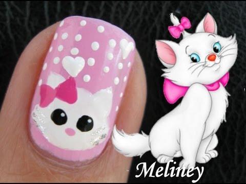 Cat Nail Art Designs