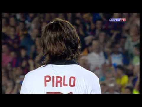 FC Barcelona - Pinto detuvo a Pirlo un penalti a lo Panenka | PopScreen