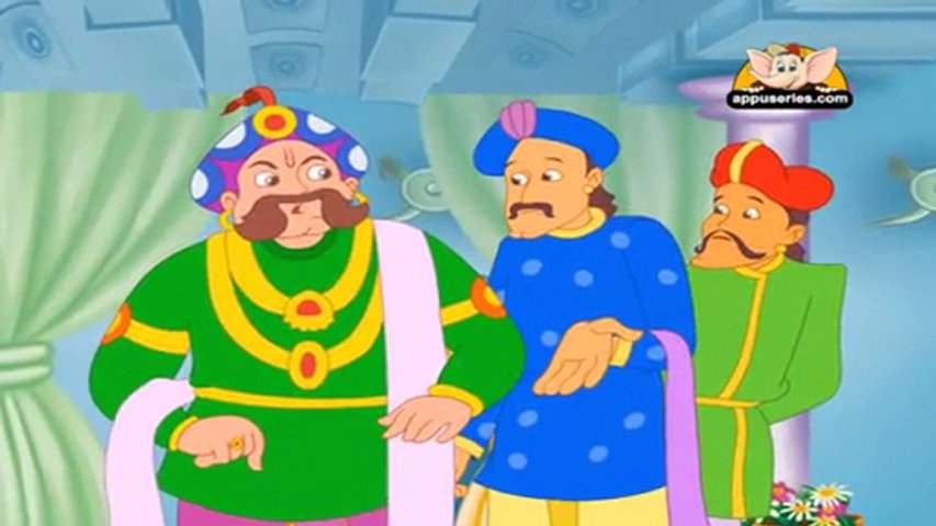 Tenali Raman Tales in Kannada - Tenali Raman and the Special Meals ...