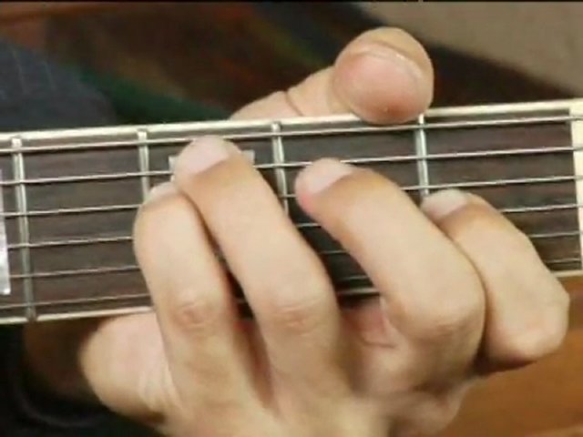 Play F Minor Chord on the  F Minor Chord