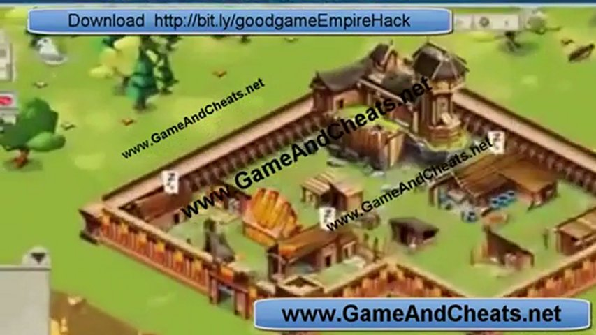 Goodgame Empire Hack Cheat - Working February 19, 2012 Update [Coins Rubies Food Wood Speed Builder]