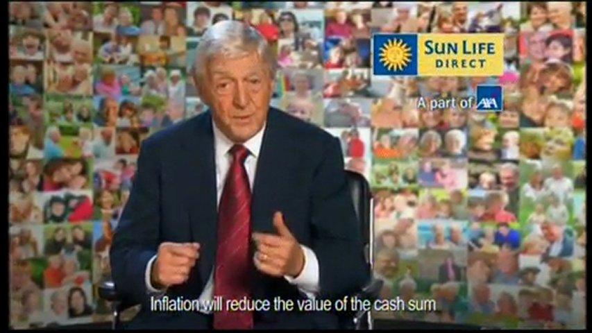 Axa Sunlife Advert   PopScreen