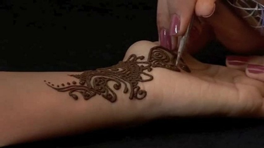 Where Do Mehndi Patterns Come From : Henna mehndi how to makedes