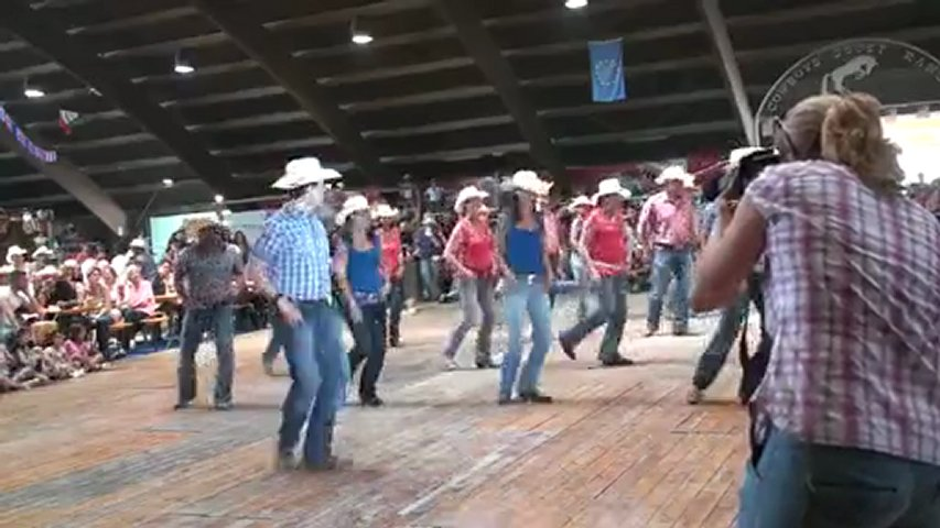 Hallelujah country line dance - WILD COUNTRY | PopScreen