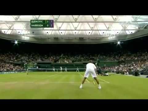 Novak Djokovic v Ryan Harrison | PopScreen