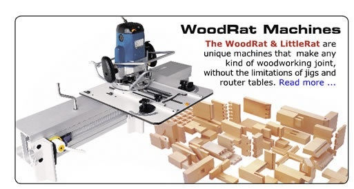 Woodrat woodworking machine