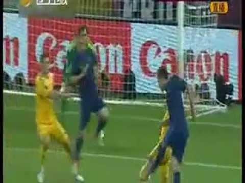 Ucrania contra Francia (06.16.2012) en la fuerte lluvia en el PK | PopScreen
