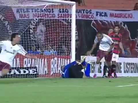 Atlético-GO 1 x 4 Fluminense Gols 6ª Rodada Brasileirão 2012 | PopScreen