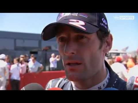 Formula One: Mark Webber Interview (2012 European Grand Prix) (Sky Sports F1) | PopScreen
