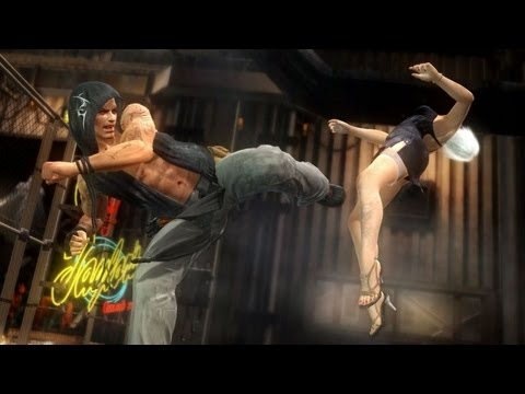 Dead or Alive 5 - Rig vs. Bass Combat Gameplay Trailer - PS3 / Xbox 360 | PopScreen