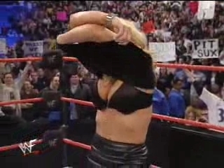 WWF Divas Trish Stratus Forced To Strip by Vince McMahon | PopScreen