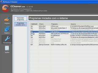 Programas que iniciam com o windows | PopScreen