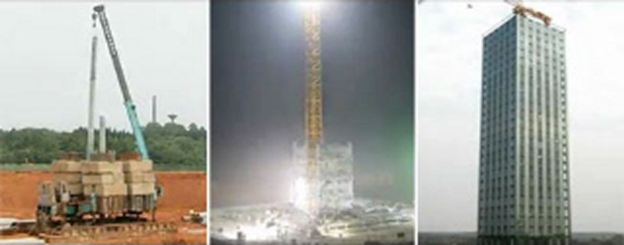 WATCH!! 30-story hotel built in 15 days stuns the Web [VIDEO REPORT
