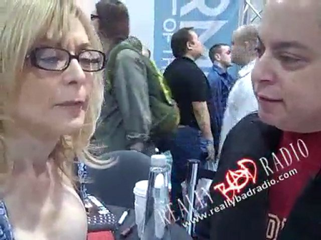 Pornstar Nina Hartley with Really Bad Radio